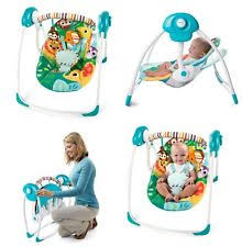 Bright Starts Comfort And Harmony Swing Bright Starts Portable Swing Ebay