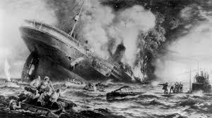 sinking of the lusitania rms lusitania remembered on 100th anniversary of sinking cbs new york