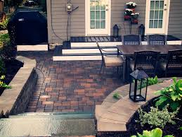 Deck To Patio Transition Retaining Walls Great Goats Landscapinggreat Goats Landscaping