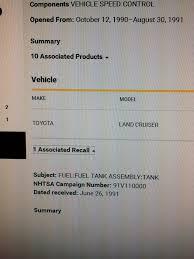 recall on lexus gx470 fj60 fuel tank recall question ih8mud forum