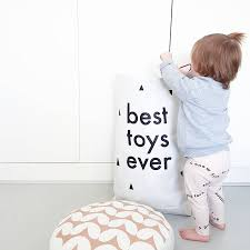 best toys ever children u0027s paper storage sack by made at twenty two