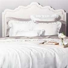 ruffle bedding the vienna soft white crane u0026 canopy