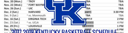 uk basketball schedule on tv complete 2017 2018 uk basketball schedule with tv listings and times