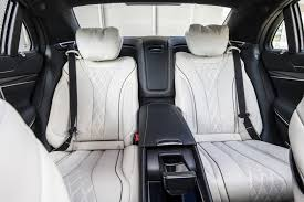 mercedes s class rear seats 2018 mercedes s class review price and release date the