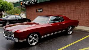 72 monte carlo candy apple red coupe american racing wheels for