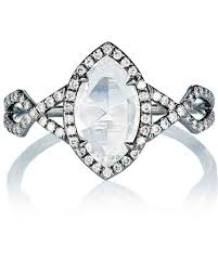 marquise diamond engagement ring marquise cut diamond engagement rings martha stewart weddings