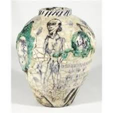 Studio Pottery Vase Grayson Perry Turner Prize Winner 2004 Studio Pottery Vase Relief
