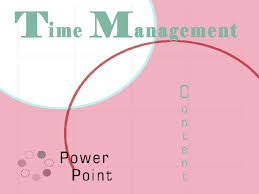 time management powerpoint