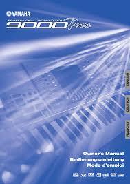 yamaha keyboard u0026 mouse 9000 pro pdf owner u0027s manual free download