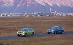 2017 subaru crosstrek green 2014 subaru xv crosstrek hybrid first drive u2013 review u2013 car and driver