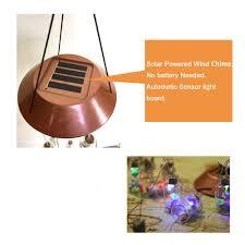 solar powered wind chime light zpaa lucky bottle solar power led wind chime light l yard led