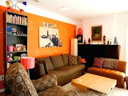 color combinations with orange living room orange color schemes best living room color schemes