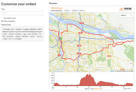 Google Maps Embed Embed A Map On Your Own Website Ride With Gps Help