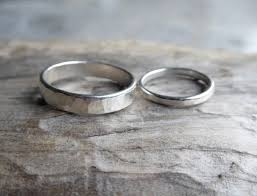 couples wedding rings images His and hers matching wedding bands couples wedding rings etsy jpg