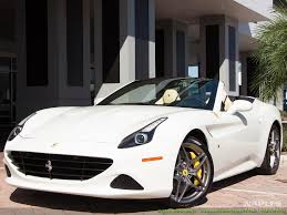 Ferrari California In White - 2016 ferrari california t