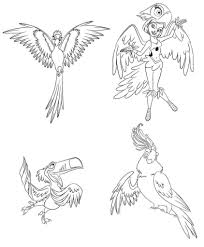 rio coloring pages coloring kids