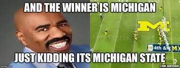 Michigan Football Memes - found this on msu memes lol msu