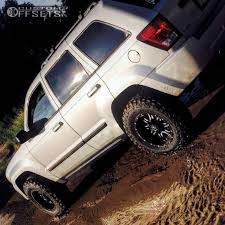 2008 lifted jeep grand wheel offset 2008 jeep grand aggressive 1 outside fender