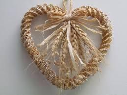 Heart Home Decor Woven Wheat Heart Wall Hanging Via Etsy Home Decor