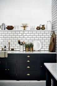 Tiled Kitchen Ideas Kitchen Black Subway Tile Kitchen Beautiful Photos Inspirations