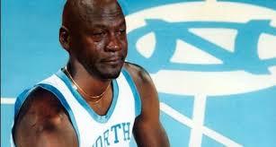 Unc Basketball Meme - crying jordan meme floods internet after unc loss