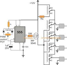 electronic circuit projects simplest quadcopter drone circuit