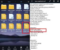 see wifi password android how to show wifi password android phone without root