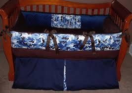 Camo Crib Bedding Set Baby Blue Camo Crib Bedding Sickchickchic