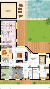 Floor Plan Bungalow Modern Bungalow Floor Plan 3d Small 3 Bedroom Floor Plans House