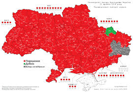 Early Election Results Map by Interpreting The Results Of Ukraine U0027s Presidential Election