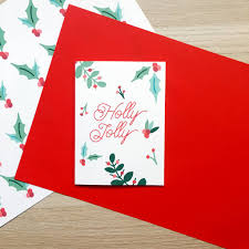 charity illustrated jolly cards pack of 10 by xoxo