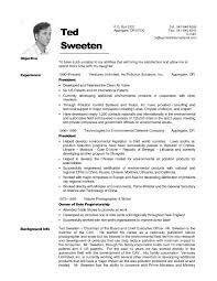 Resume Samples Non Profit by Emt Resume Examples Template Idea