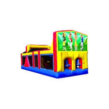 inflatable 30 u0027 backyard obstacle course modular large panel