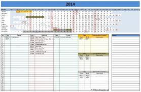 100 2014 calendar excel template calendar planner 2014 template