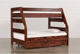 Bunk Bed With Mattress Sedona Bunk Bed With Trundle With Mattress Living