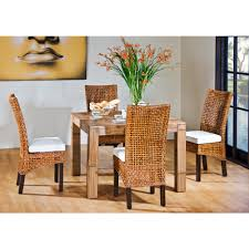 Chair Whicker Dining Chairs Indoor Wicker Furniture Room Table - Wicker dining room chairs