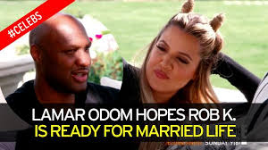 marriage caption lamar odom gives rob marriage advice ahead of wedding