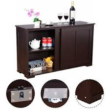 kitchen storage cabinet sideboard buffet cupboard wood sliding