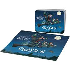 room on the broom magnificent puzzle and gift tin room on the