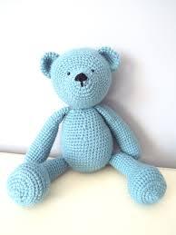 crochet teddy bear dolls handmade amigurumi home decor kids