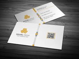 Social Network Business Card Media Business Card Business Card Templates Creative Market