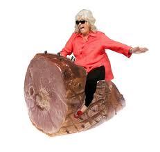 Paula Deen Pie Meme - paula deen riding a ham happy easter y all fruitcake ham etc