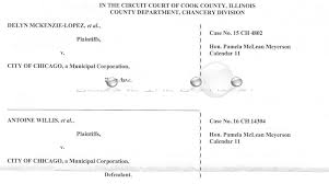 city of chicago red light tickets news mckenzie lopez antonie willis v city of chicago case claim
