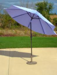 amazon com 9 u0027 purple aluminum patio market umbrella tilt with