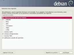 environnement bureau linux choix de l environnement graphique pour le df debian