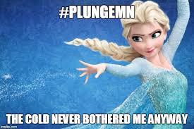 Frozen Birthday Meme - polar plunge plunge memes