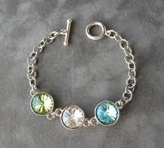 s bracelet birthstones s birthstone bracelet jewelry for mothers