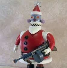 futurama series four through six figures santa robot