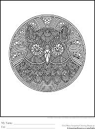 advanced coloring pages owl ginormasource kids