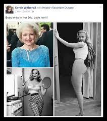 Betty White Memes - false betty white in her 20 s